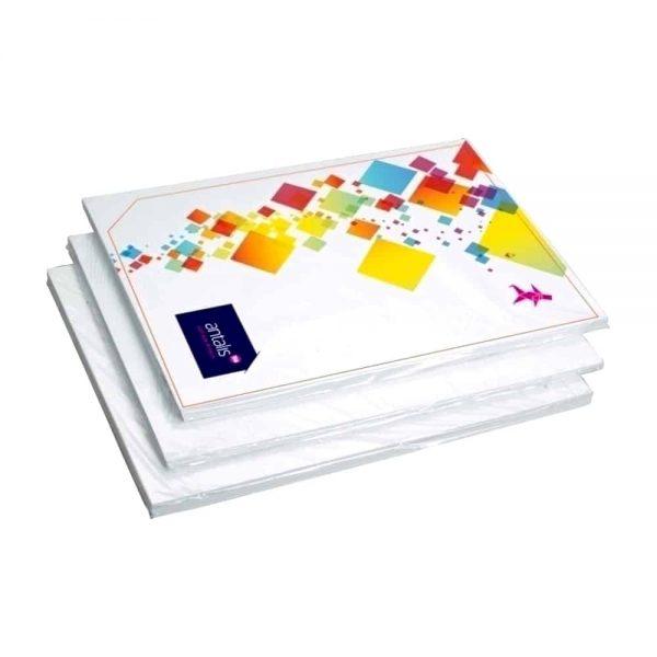 Carton dublu cretat alb lucios A4 250g/mp-50b/t