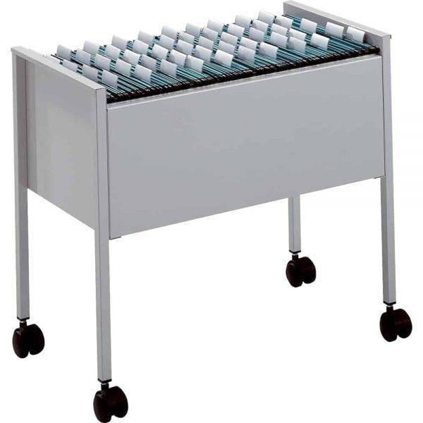 Suport dosare suspendabile Durable, gri, max.80 dosare, 592 x 655 x 368 mm, metal