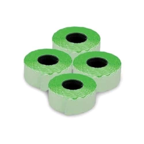Etichete fluorescent,verde1500buc/rola 26x12mm,
