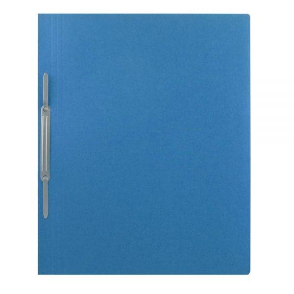 Dosar Super, albastru, cu sina, A4, carton, 10 buc/pach