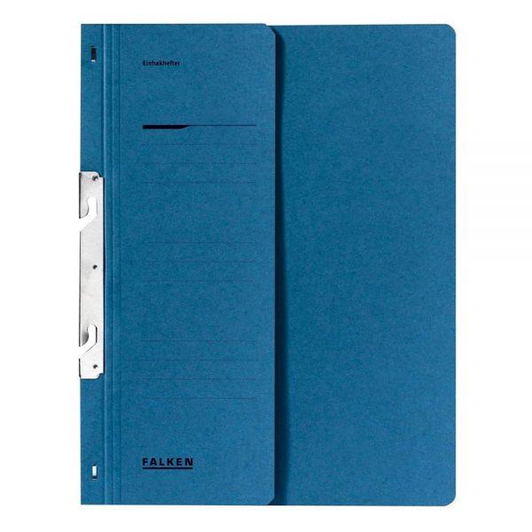 Dosar de incopciat 1/2 Lux Falken, carton, 250 g/mp, albastru