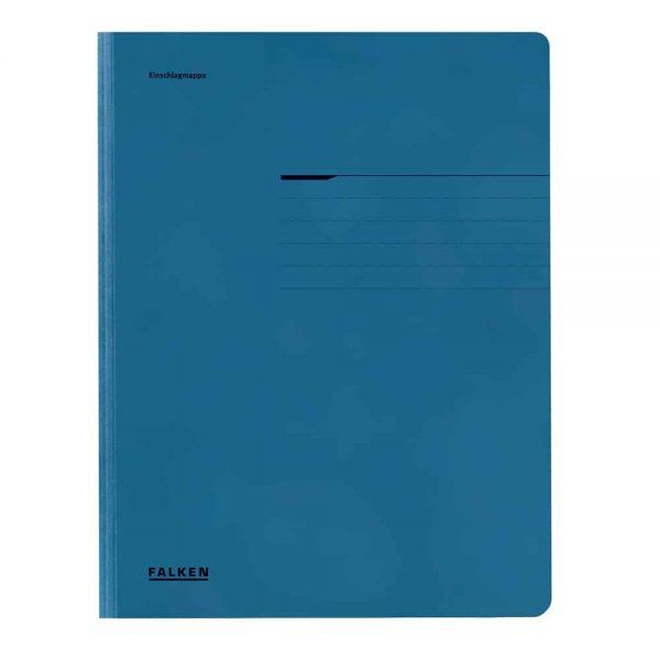 Dosar plic Lux Falken, carton, 320 g/mp, albastru