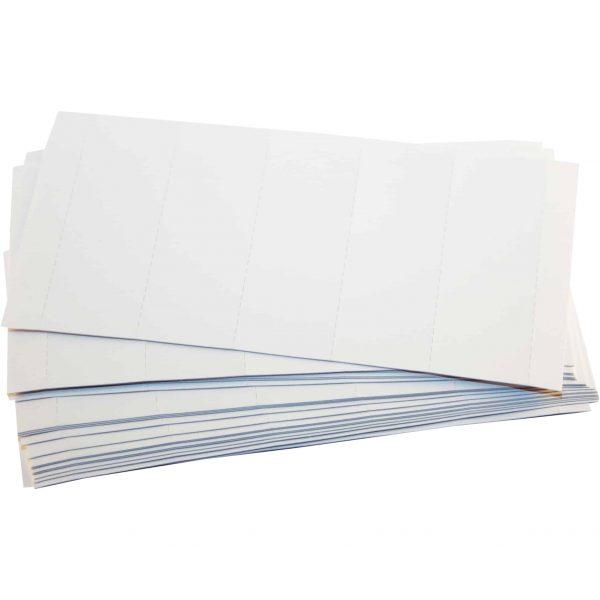 Etichete pentru dosare suspendabile Falken, alb, 60x20mm, hartie, 100 buc/pach