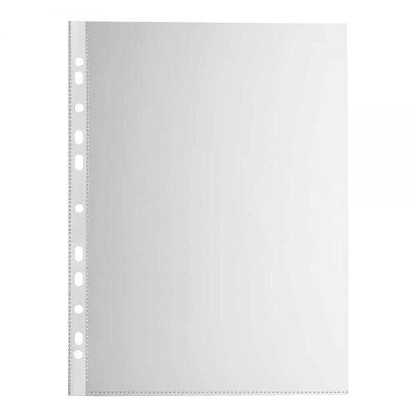 File de protectie Falken, transparent, cristal, 50mic, A4, plastic, 100buc/set