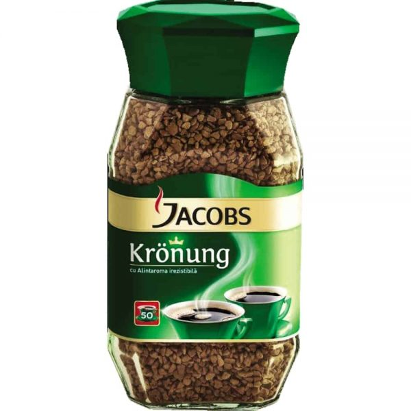 Cafea Jacobs Kronung Instant 100g