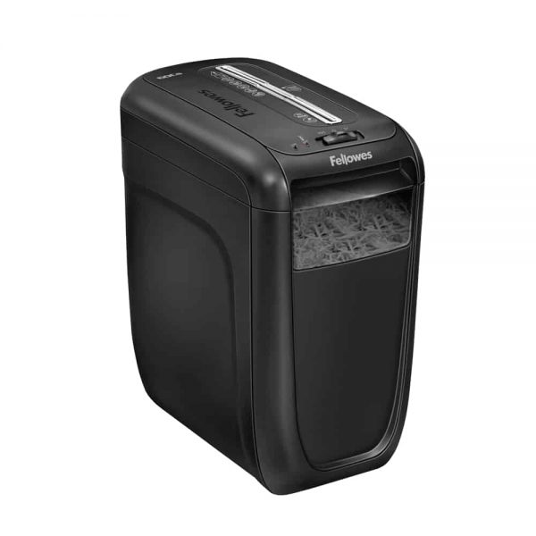 Distrugator documente Fellowes 60CS, cross-cut, negru