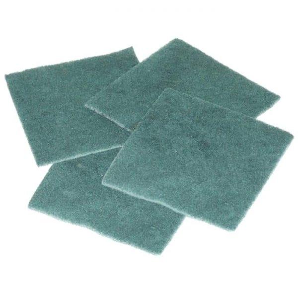 Lavete fibra abraziva 4buc/set
