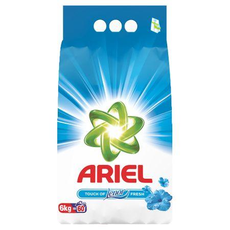 Detergent rufe automat Ariel Touch Lenor, 6 kg