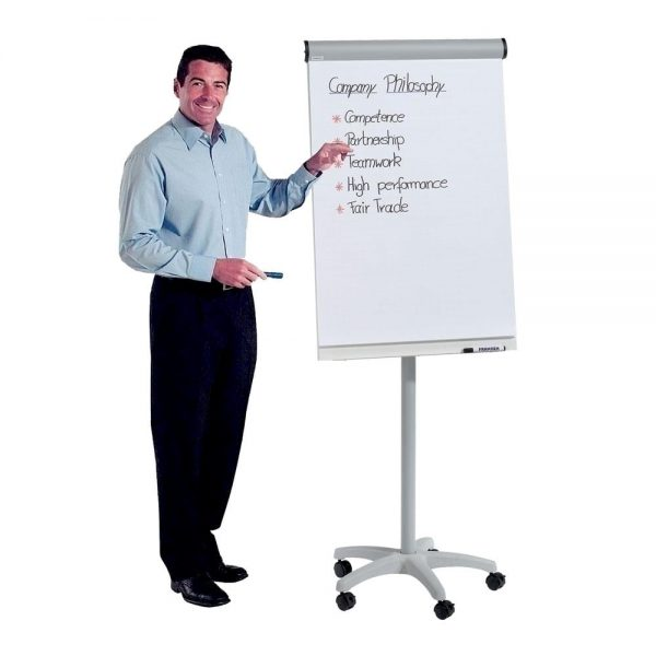 Flipchart mobil A-series Easy magnetic, 68 x 105 cm