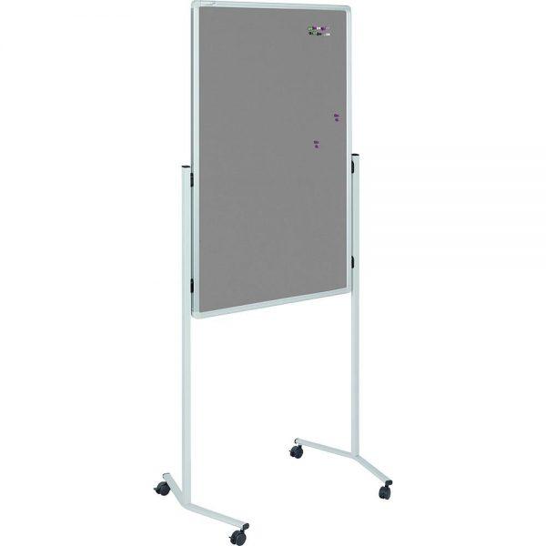 Tabla magnetica mobila Legamaster multifunctionala, 120 x 75 cm