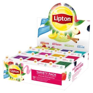 Ceai Lipton Variety Pack, 180 plicuri
