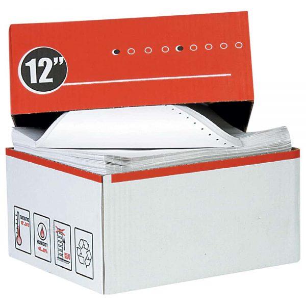 Hartie imprimanta A4, 240mm x 12inch 1exemplar,  60g, 1800 coli/cutie