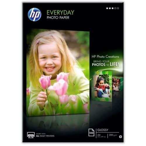 Hartie foto HP Q2510A Glossy, A4, 200g/mp