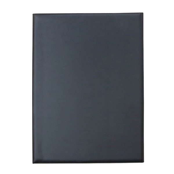 Clipboard dublu, A4, PVC, negru