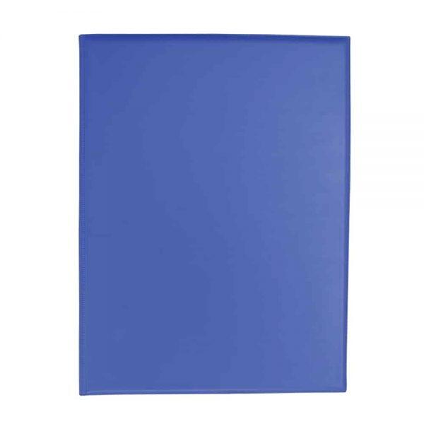 Clipboard dublu, A4, PVC, albastru