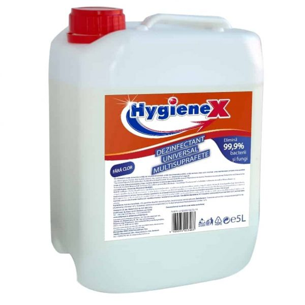 Dezinfectant universal multisuprafete Hygienex 5l