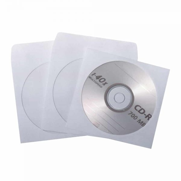 Plic CD fara adeziv, 25 buc/set