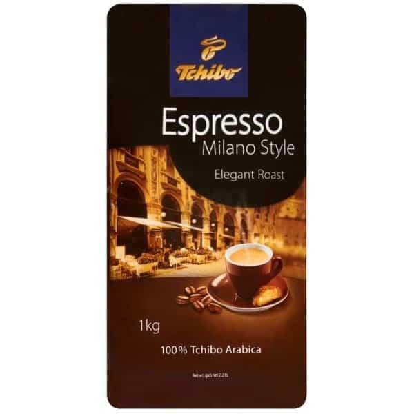 Cafea Tchibo Milano Espresso style elegant boabe,1 kg