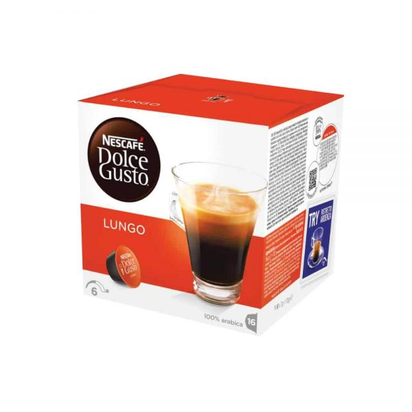 Nescafe Dolce Gusto Caffe Lungo 112g 16 capsule/cut