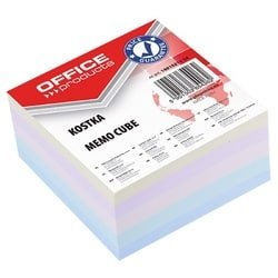 Rezerva cub hartie 85x85x40mm, Office Products - hartie culori pastel asortate