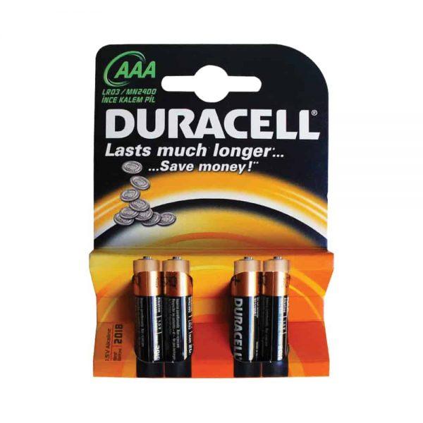 Baterii Duracell Basic AAA R3, 4 buc/set