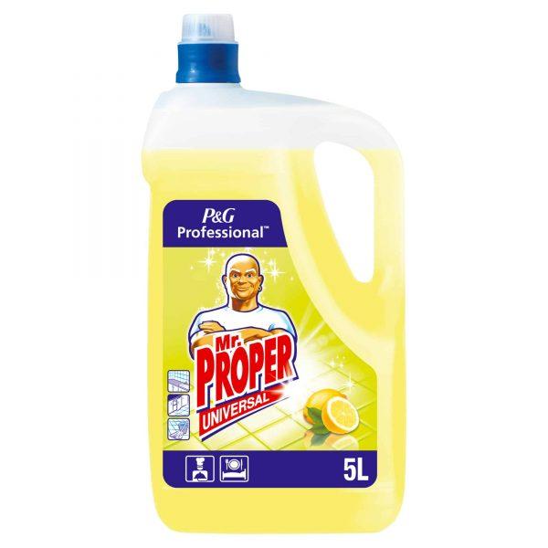 Detergent universal pentru toate suprafetele Mr Proper Lemon,5l