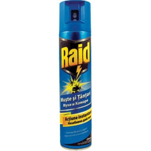 Raid Spray Muste&Tantari