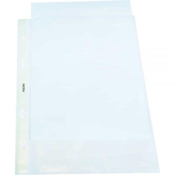 File protectie transparente, A5, portrait, 100 bucati/set Noki