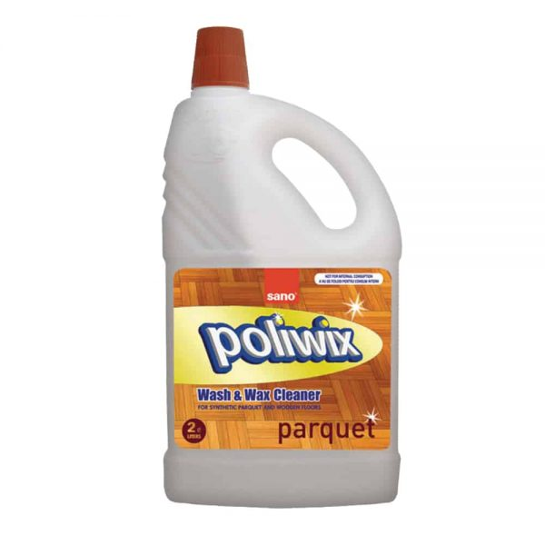 Detergent pentru pardoseli din lemn Sano poliwix parquet 2l