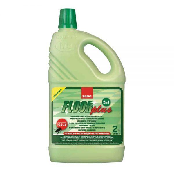 Detergent pentru toate tipurile de pardoseli Sano floor plus 2l