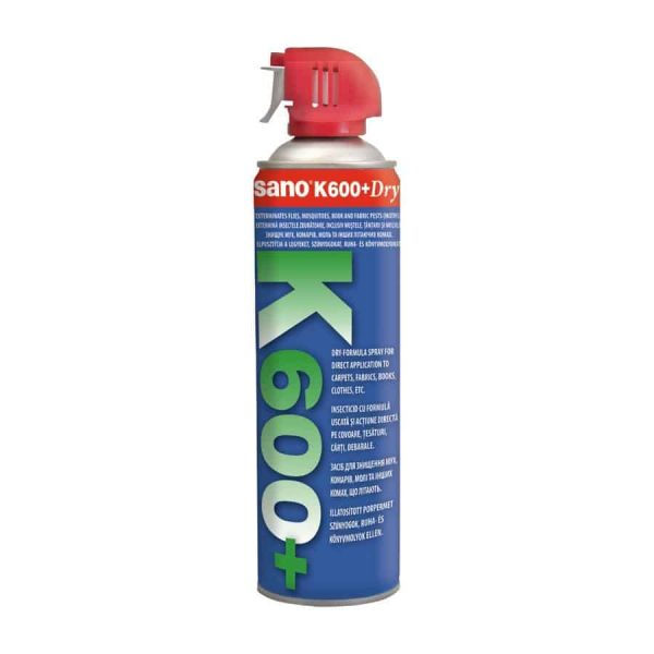 Spray insecticid Sano K600 impotriva insectelor zburatoare, 500 ml