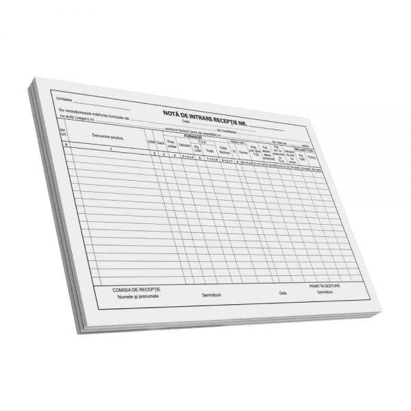 Nota de intrare-recep A4, C100, F 3 buc/set