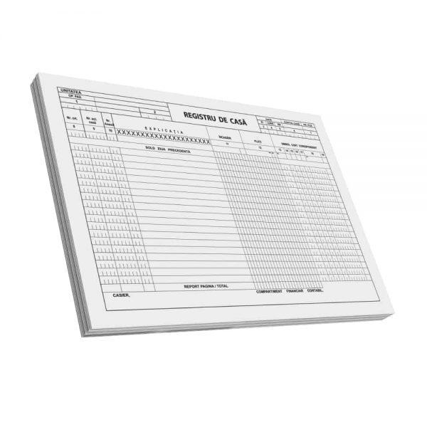 Registru de casa A4, C100, F 3 buc/set