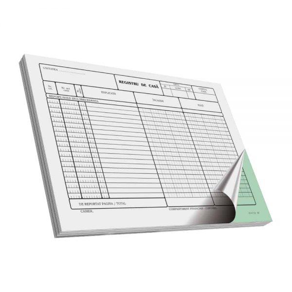 Registru de casa A4, C50, 2 ex. 3 buc/set