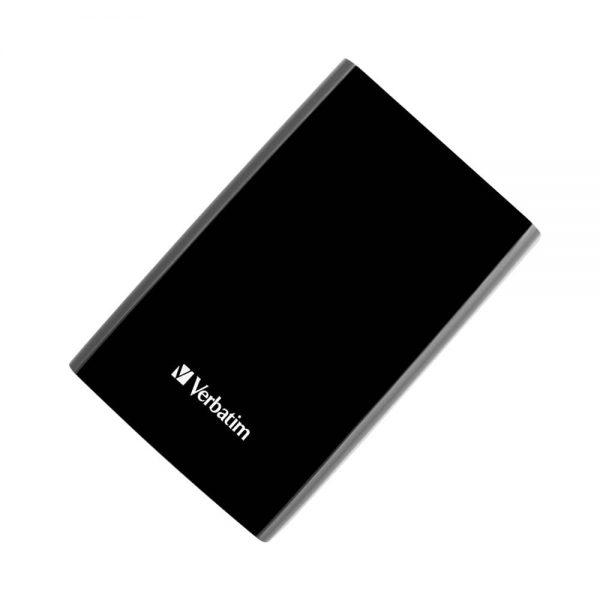 Hard disk extern Verbatim 2.5', 1 TB, USB 3.0, negru/argintiu