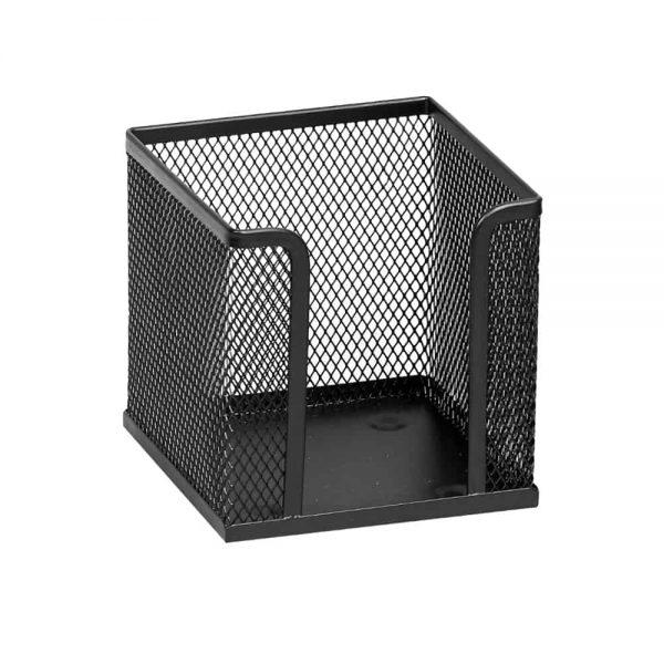 Suport Memoris Precious pentru cub hartie mesh, negru