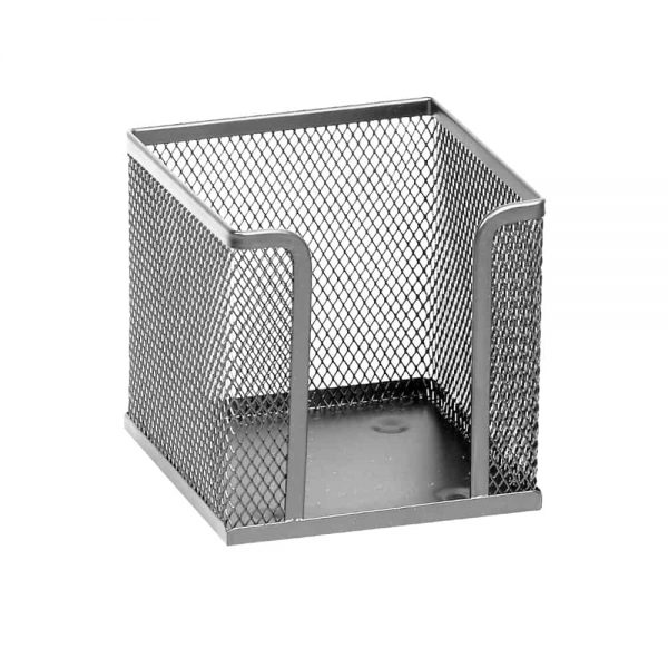 Suport Memoris Precious pentru cub hartie mesh, argintiu
