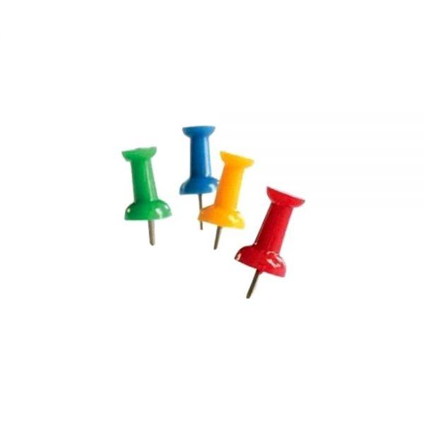 Ace pentru tabla de pluta, Memoris-Precious, divers colorate, 50buc/cutie