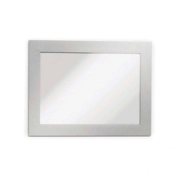 Display magnetic,  Magaframe A6, argintiu, 2 buc