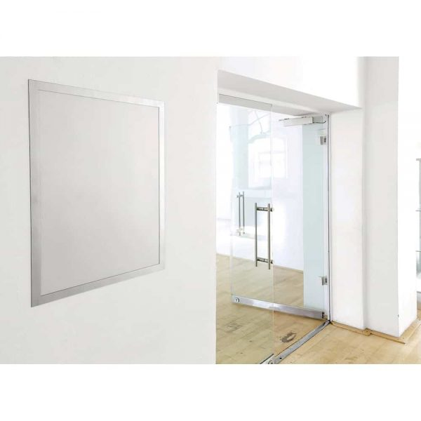 Display magnetic autoadeziv Durable Duraframe, 50 x 70 cm, gri, 1 bucata/set