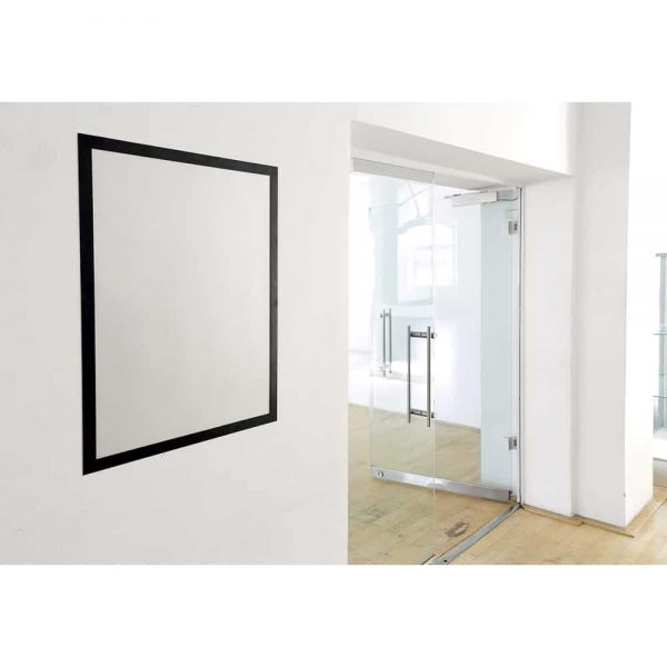 Display magnetic autoadeziv Durable, 50 x 70 cm, negru, 1 bucata/set