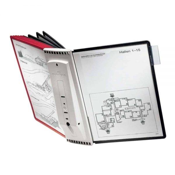 Sistem de prezentare pentru perete Durable Sherpa 10