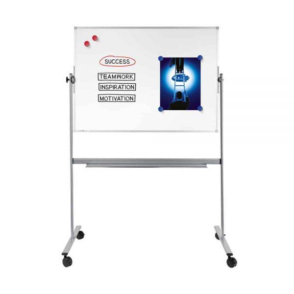 Tabla magnetica rotativa Legamaster Economy, 90 x 120 cm