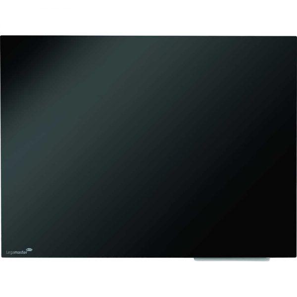 Legamaster tabla magnetica din sticla 90x120cm, culoare neagra