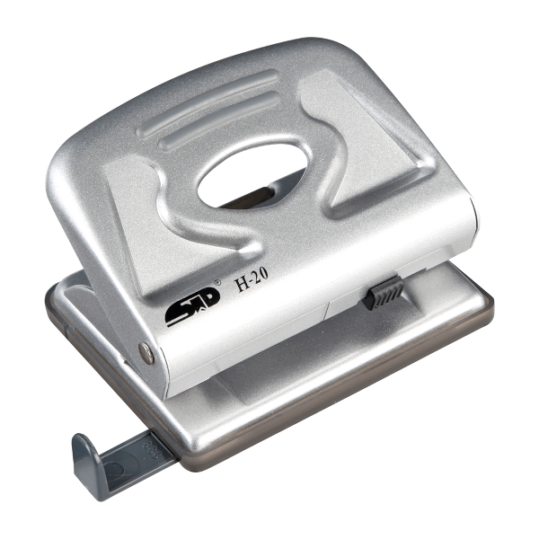 Perforator Noki H-20, metalic, 20 coli, argintiu