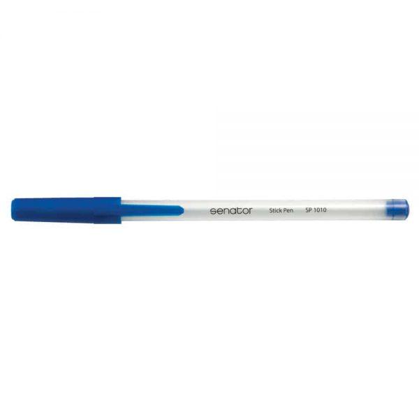 Pix Senator Stick Pen, seria 1000, varf 0.7 mm, albastru