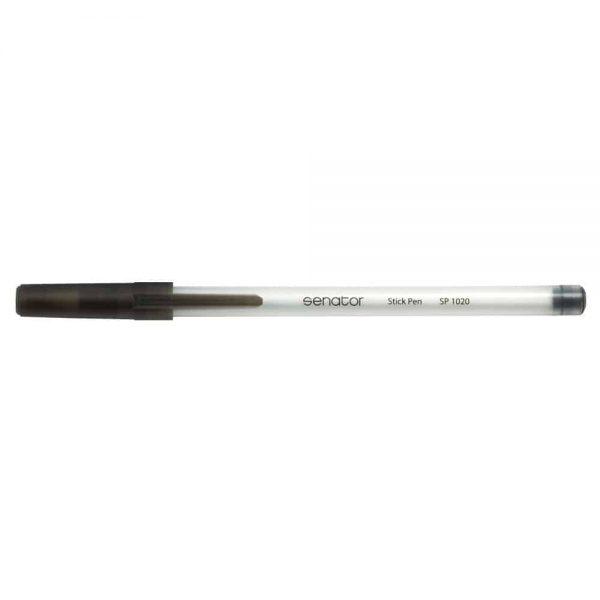 Pix Senator Stick Pen, seria 1000, varf 0.7 mm, negru