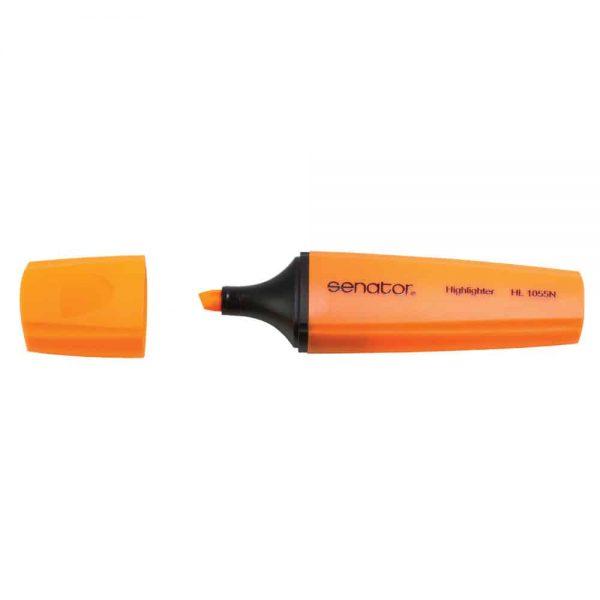 Textmarker Senator seria 1000, varf 1- 5 mm, portocaliu