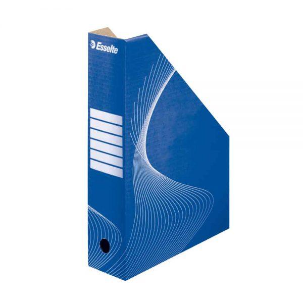 Suport pentru documente Esselte, carton, albastru