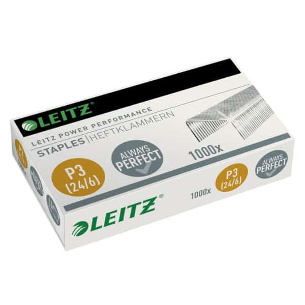 Capse LEITZ Power Performance 24/6, 1000/cutie